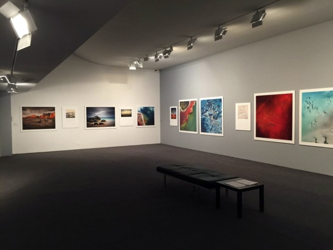 Installation view of various Ninety Degrees Five 'Investigations' 2010-13 at the exhibition 'Earth Matters', Monash Gallery of Art
