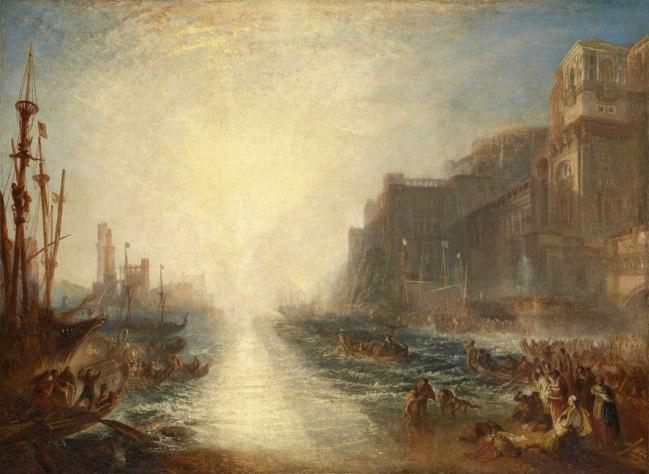 Joseph Mallord William Turner (British, 1775-1851) 'Regulus' 1828, reworked 1837