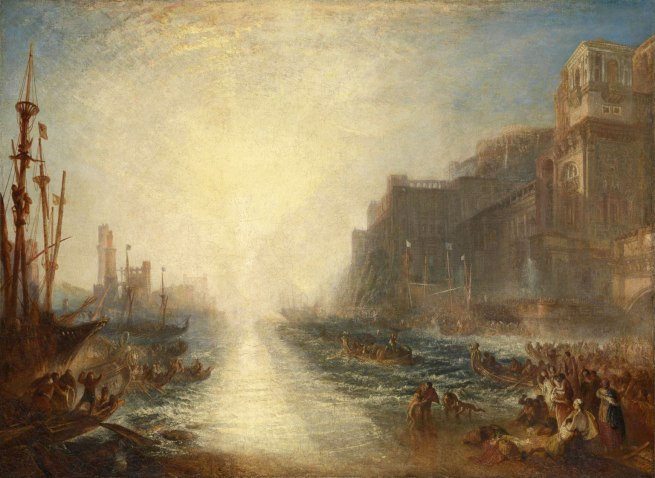 Joseph Mallord William Turner (British, 1775-1851) 'Regulus' 1828, reworked 1837