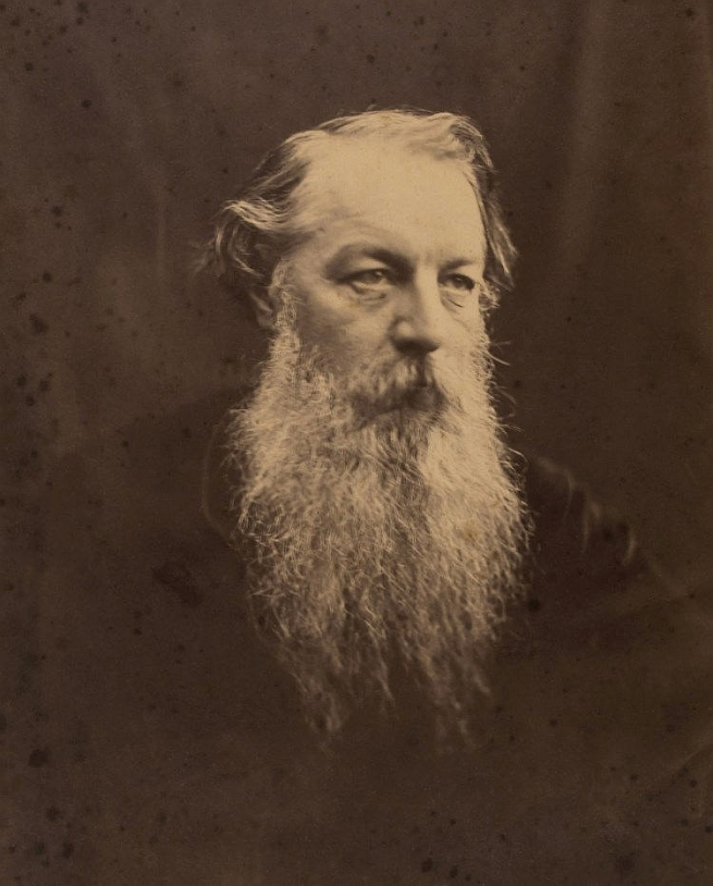 Julia Margaret Cameron (1815-1879) 'James Rogers' 1867