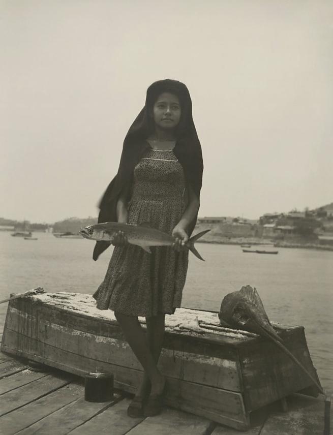 Manuel Álvarez Bravo. 'A Fish Called Sierra' (Un pez que llaman sierra) 1944