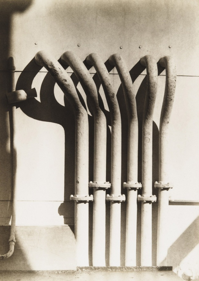 Marjorie Content. 'Steamship Pipes, Paris' Winter 1931