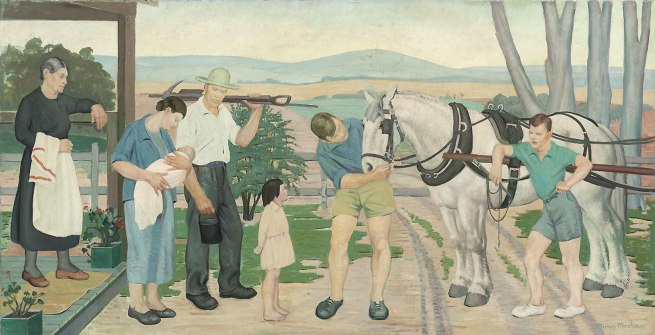Miriam Moxham. 'Country Morning' c.1940