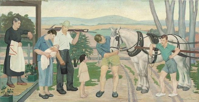 Miriam Moxham. 'Country Morning' c.1940
