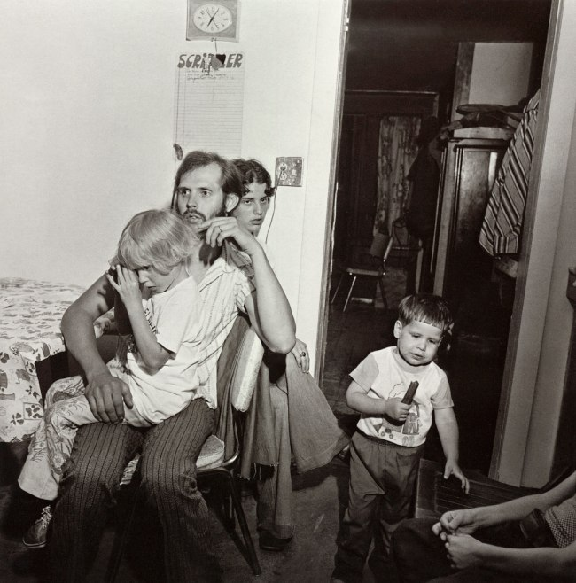 Larry Fink. 'Oslin's Graduation Party' 1977