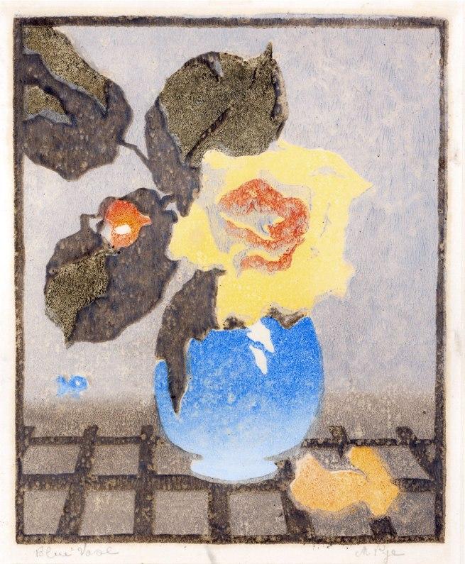 Mabel Pye. 'Blue Vase' c. 1936