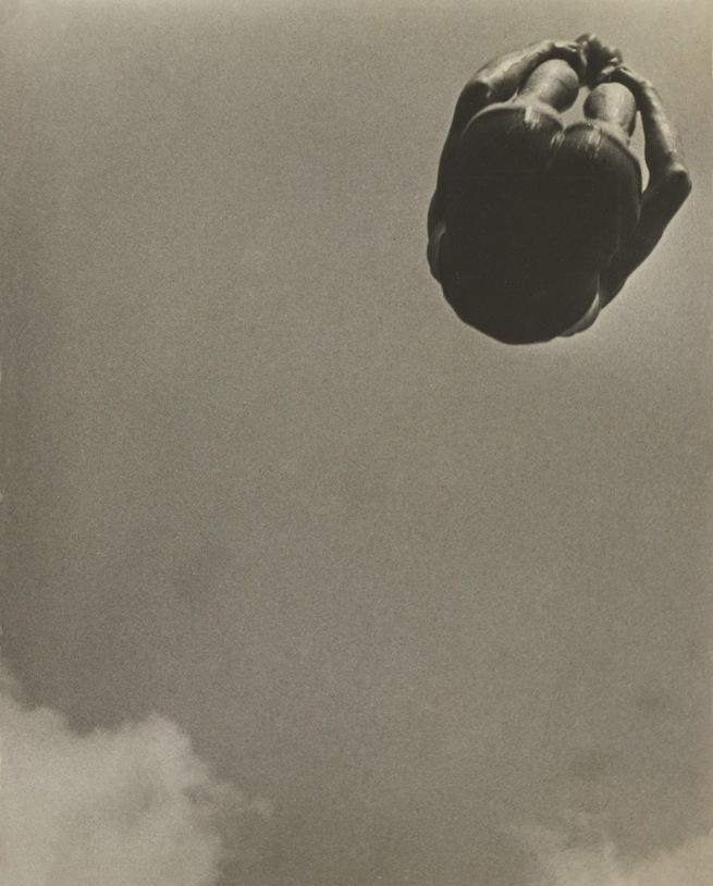Aleksandr Rodchenko. 'Dive' (Pryzhok v vodu) 1934