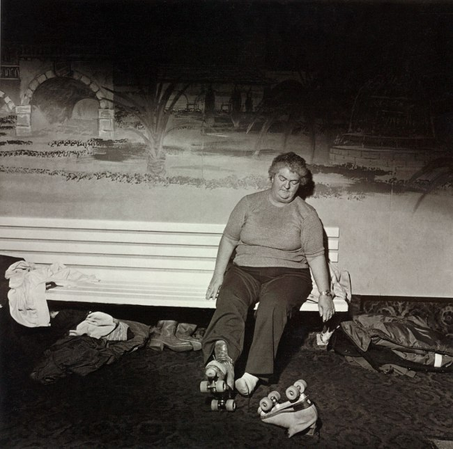 Larry Fink. 'Skating Rink' 1980