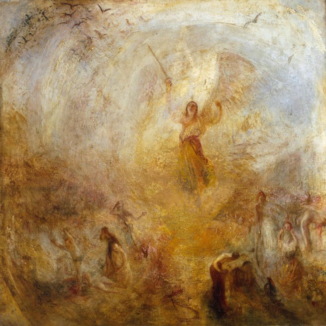 Joseph Mallord William Turner (British, 1775-1851) 'The Angel Standing in the Sun' Exhibited 1846