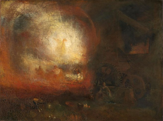 Joseph Mallord William Turner (British, 1775-1851) 'The Hero of a Hundred Fights' About 1800 - 1810, reworked and exhibited 1847