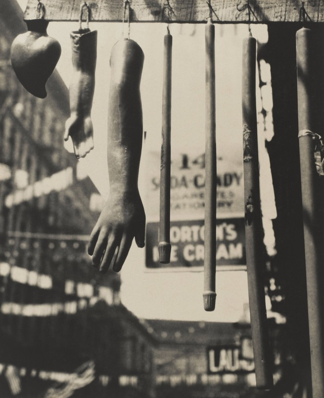 Walker Evans. 'Votive Candles, New York City' 1929-30