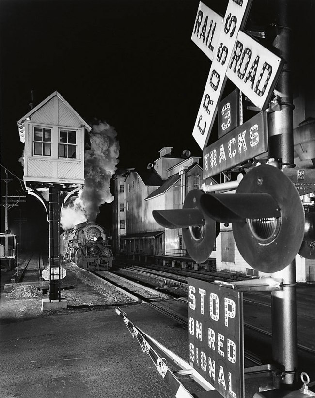 Winston O. Link (1914-2001) 'Luray Crossing, Luray, Virginia' 1956