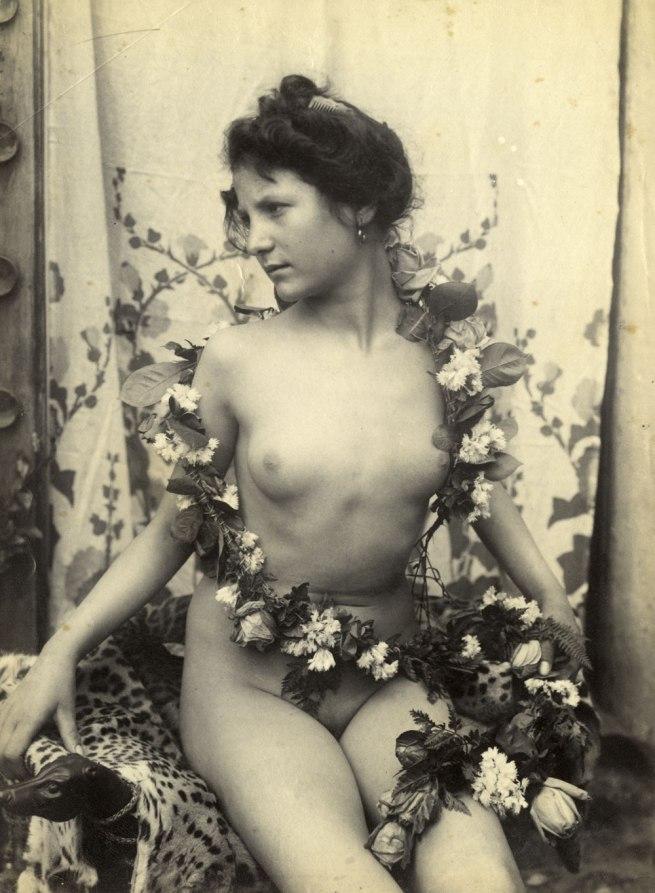 Guglielmo Plüschow (Wilhelm von Plüschow,1852-1930), Germany 'Female nude' Italy, c.1890