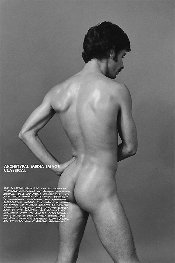 Hal Fischer from 'Gay Semiotics' 1977