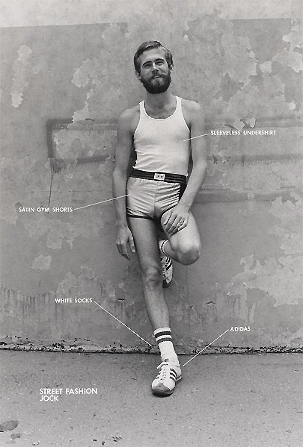 Hal Fischer from 'Gay Semiotics' 1977
