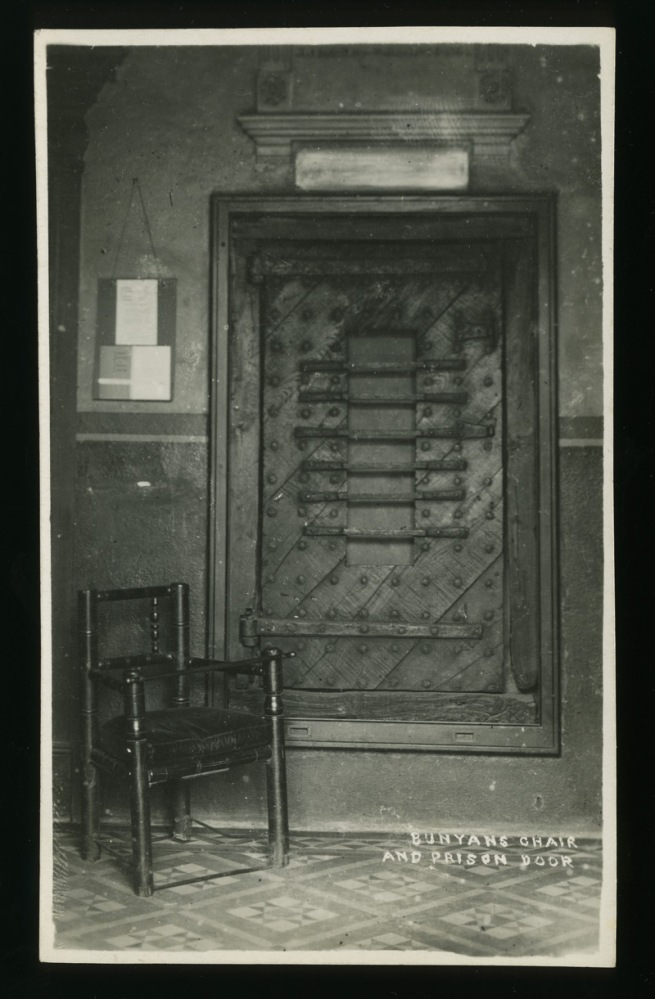 Unknown maker (British) 'Bunyan's Chair and Prison Door' Nd