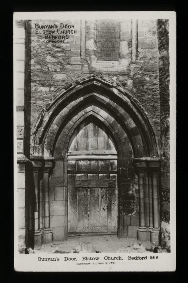 Lilywhite Ltd., (British) 'Bunyan's Door. Elstow Church. Bedford' Nd