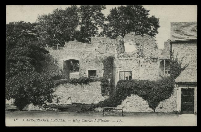 Léon & Lévy (French) 'Carisbrooke Castle - King Charles I Window' c. 1901-1920