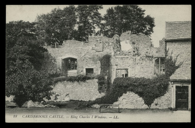 Léon & Lévy (French) 'Carisbrooke Castle - King Charles I Window' c. 1901-1920