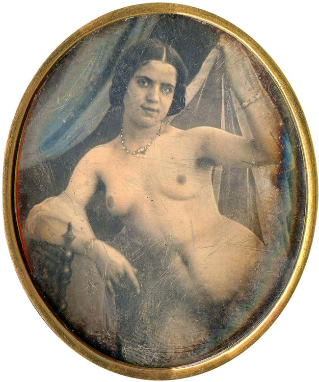 Unknown photographer. 'Female nude' 1850s