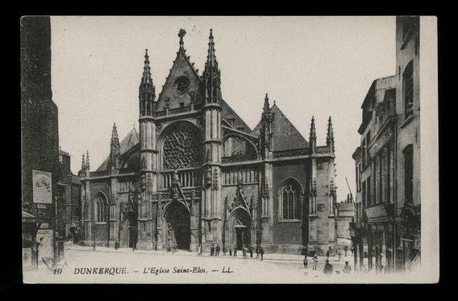 Léon & Lévy. 'Dunkerque - L'Eglise Saint-Eloi' c. 1901-1920