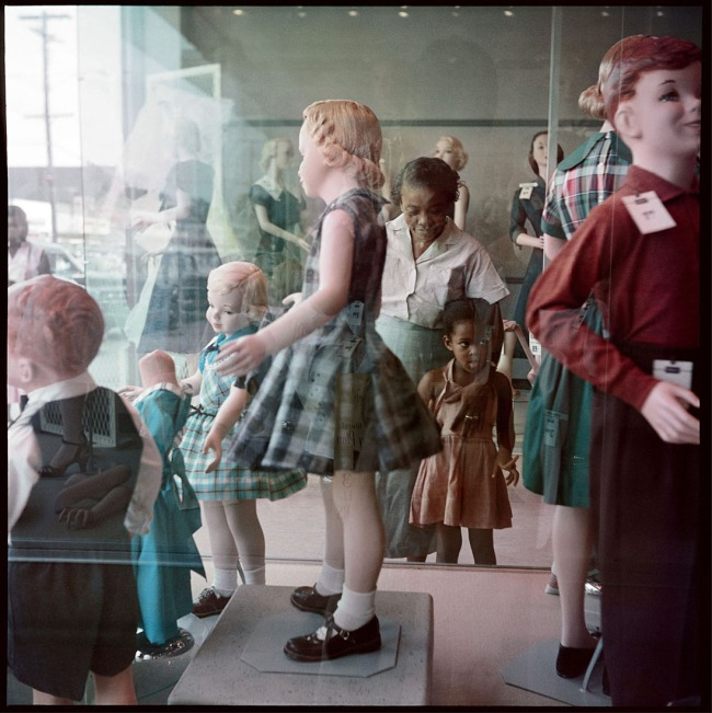 Gordon Parks (American, 1912-2006) 'Ondria Tanner and Her Grandmother Window-Shopping, Mobile, Alabama' 1956