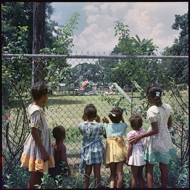 Gordon Parks (American, 1912-2006) 'Outside Looking In, Mobile, Alabama' 1956