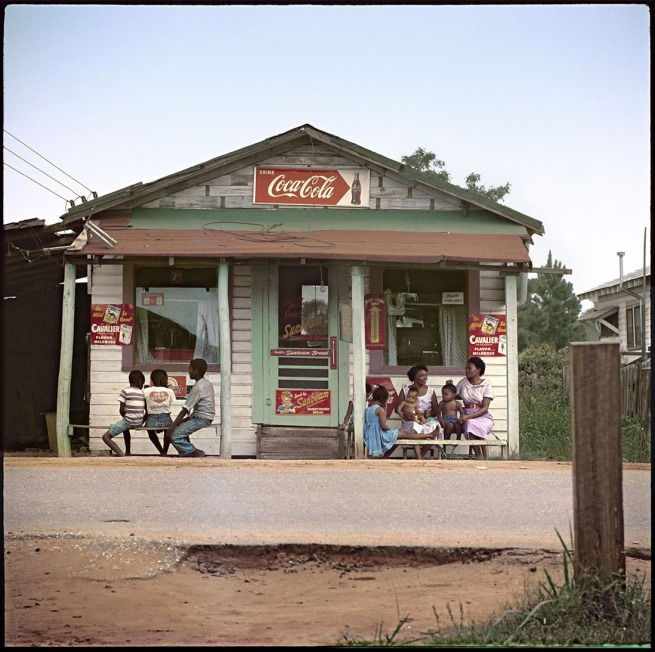 Gordon Parks (American, 1912-2006) 'Store Front, Mobile Alabama' 1956