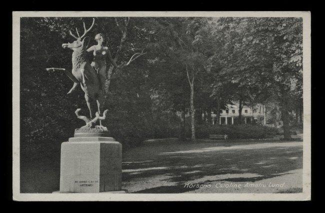 Unknown maker (Denmark) 'Horsens. Caroline Amelie Lund' Nd