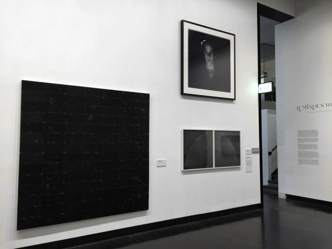 Installation view of the exhibition 'Luminous World: Contemporary Art from the Wesfarmers Collection' at The Ian Potter Museum of Art, The University of Melbourne