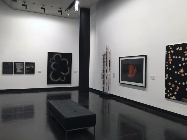 Installation view of the exhibition 'Luminous World: Contemporary Art from the Wesfarmers Collection'at The Ian Potter Museum of Art, The University of Melbourne