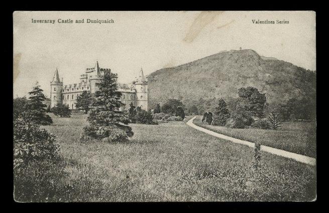 J. Valentine & Co. (British, 1825-1963) 'Inveraray Castle and Duniquaich' Nd