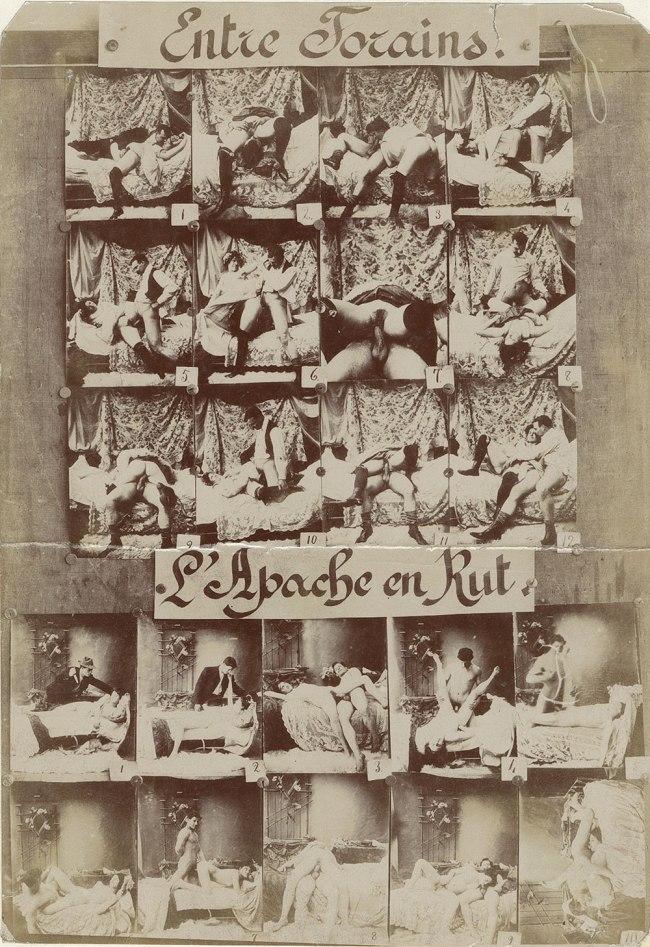 Unknown photographer. 'Entre Forains/L'Apache en Rut' 1895