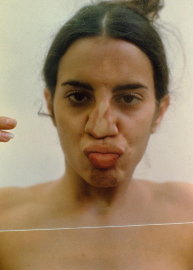 Ana Mendieta (1948-1985) 'Untitled (Glass on Body Imprints)' 1972/1997