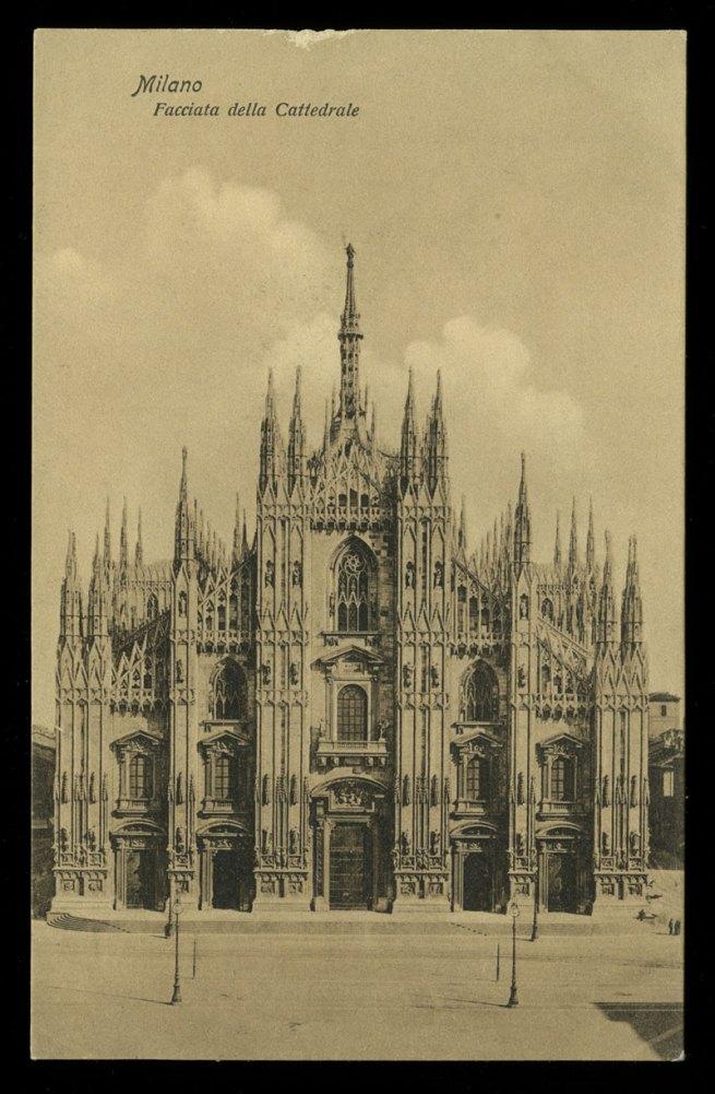 Luigi Grassi, Milano (Italy) 'Milano, Facciata della Cattedrale [Facade of Milan Cathedral]' Nd