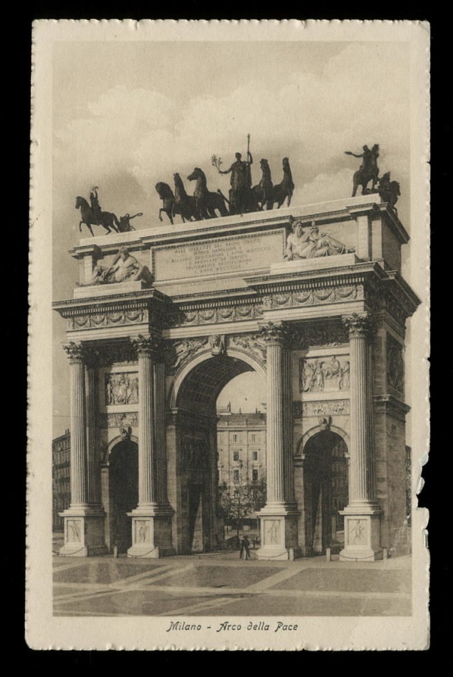 Unknown maker (Italian) 'Milano - Arco della Pace' Nd