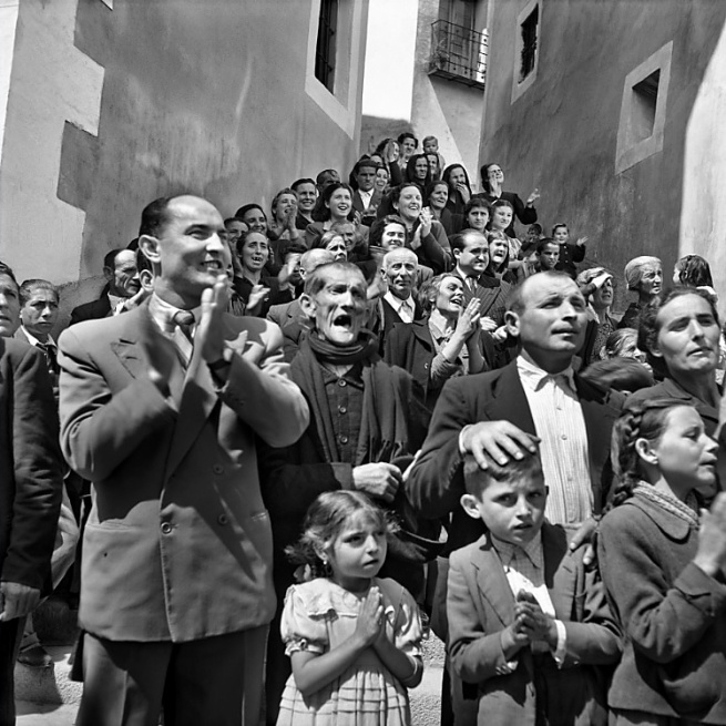 Nicolás Muller. 'Semana Santa (Cuenca)' 1950
