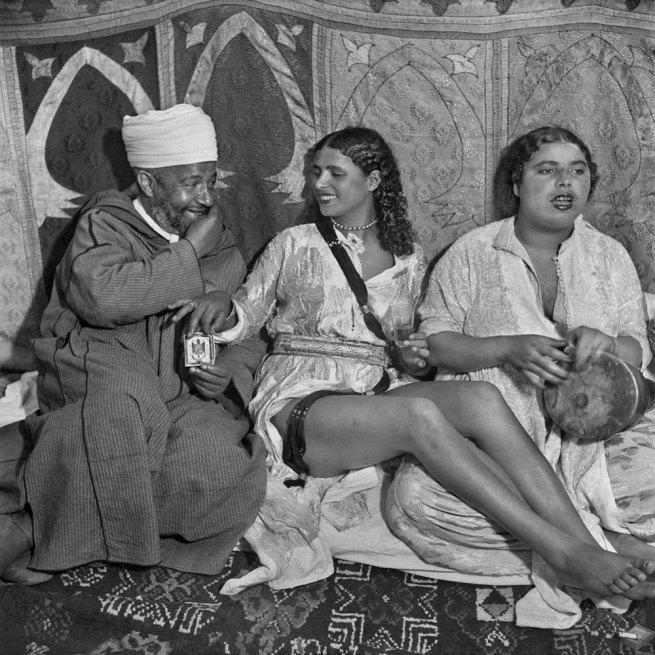 Nicolás Muller. 'Danseuse' Larache, Maroc, 1942