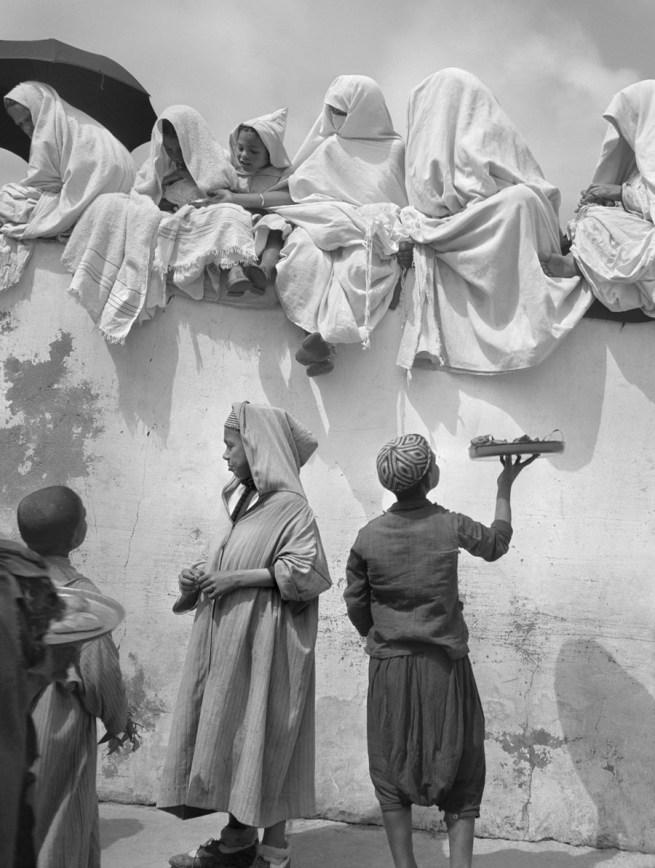 Nicolás Muller. 'Fête du Mouloud I' Tanger, Maroc, 1942