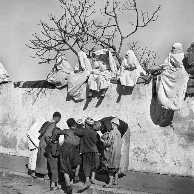 Nicolás Muller. 'Fête du Mouloud II' Tanger, Maroc, 1942