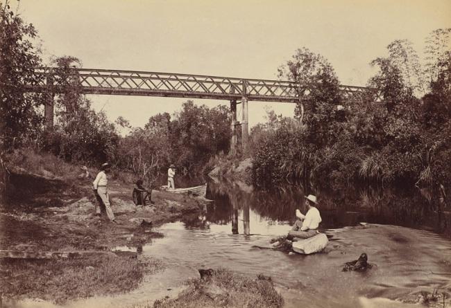 Paul Foelsche. 'Adelaide River' 1887