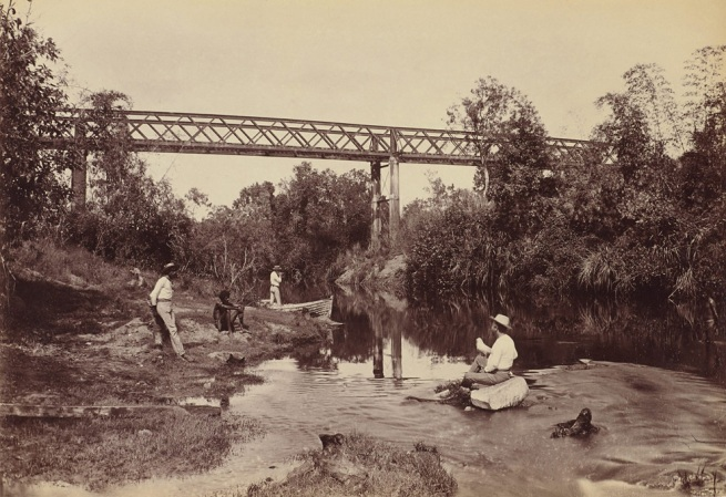 Paul Foelsche. 'Adelaide River' 1887