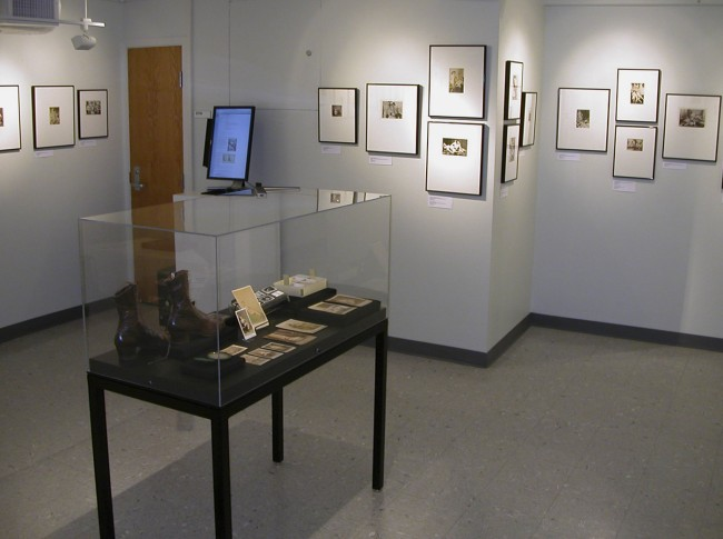 Photo process display case from the exhibition 'Hold That Pose' at the Kinsey Institute