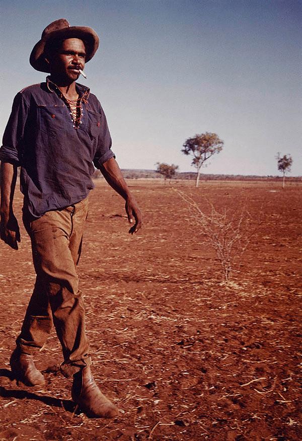 Axel Poignant (England, Australia, England 12 Dec 1906–05 Feb 1986) 'Aboriginal stockman, Central Australia' c. 1947, printed 1982