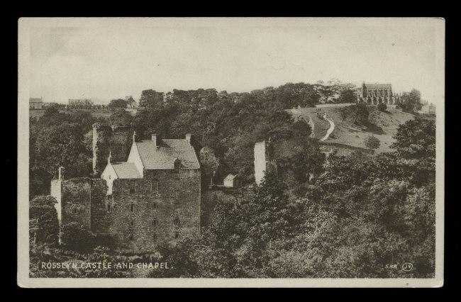 James Valentine, photographer (Scottish, 12 June 1815 - 19 June 1879) 'Rosslyn Castle and Chapel' Nd