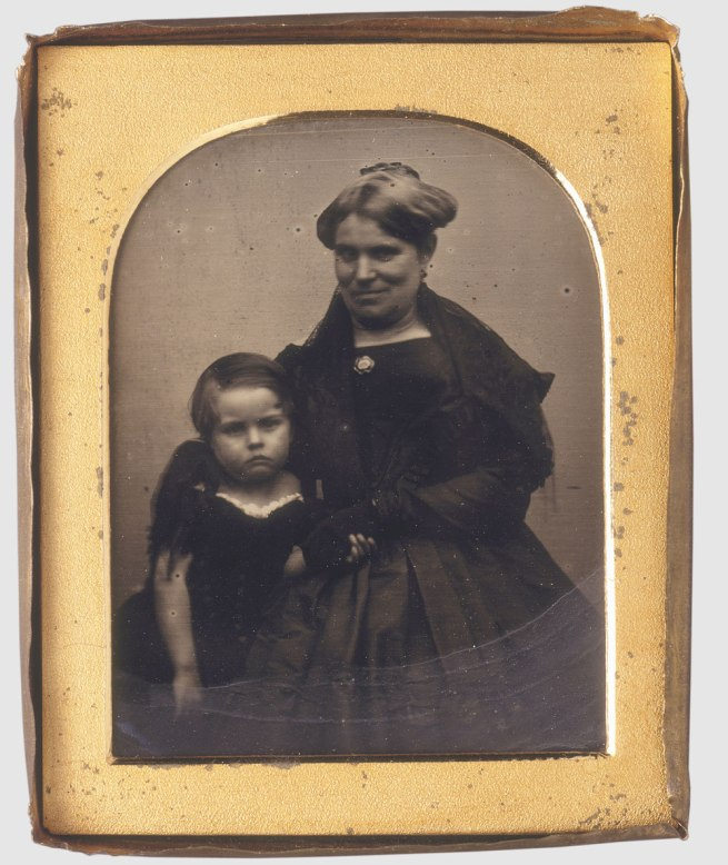 George Goodman. 'Caroline and son Thomas James Lawson' 1845