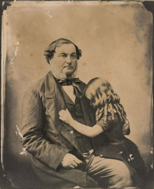 Unknown photographer. 'John Gill and Joanna Kate Norton' 1856