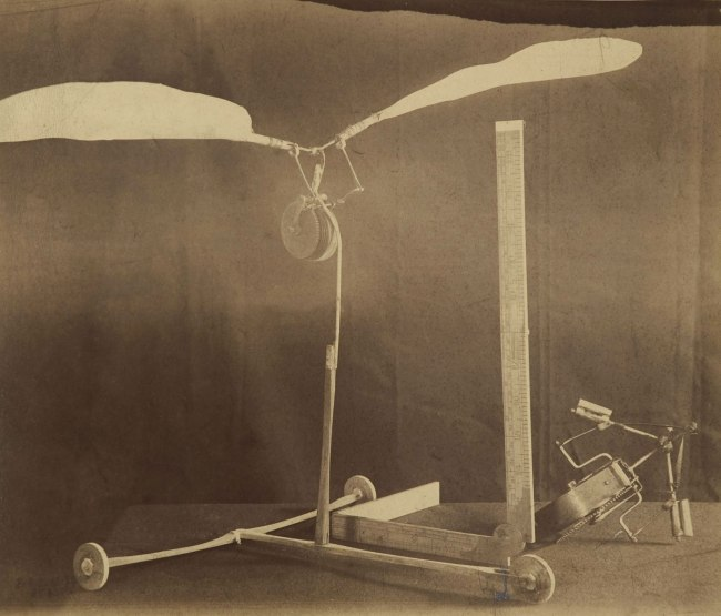 Charles Bayliss. 'Lawrence Hargrave trochoided plane model' 1884