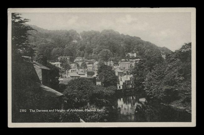 H. Coates, Wisbech (British) 'The Derwent and Heights of Abraham, Matlock Bath' Nd