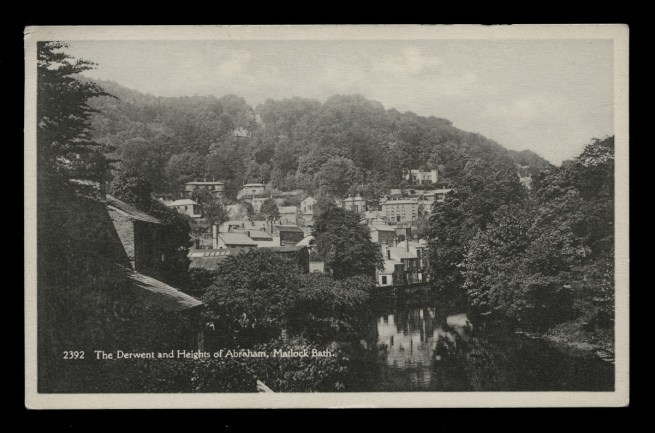 H. Coates, Wisbech (British) 'The Derwent and Heights of Abraham, Matlock Bath' Nd